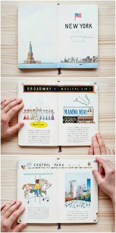 ILLUSTRATED CITIES | a wanderer's path - #art