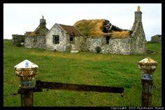 Derelict croft house, South Uist