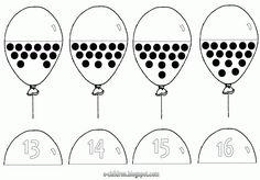 * Tellen met ballonnen 4-4