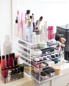 89 Best Acrylic Organiser Images In 2019 Makeup Organization