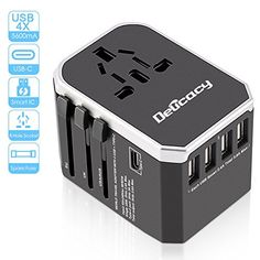52BD EU Plug Wall Charger USB Charger Adapter Charging Station for Smart Phone