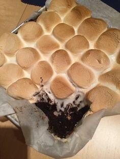 S'mores and Nutella Brownies für #ichbacksmir