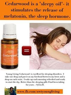 Cedarwood for sleeping