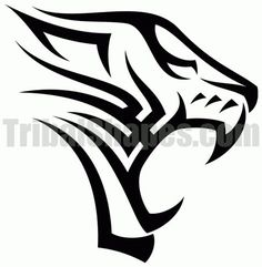 Free tribal tattoo design for 'Tiger Find more Animals tattoos on this category full of tribal designs! 4 Tattoo, Lion Tattoo, Body Art Tattoos, Tribal Tiger Tattoo, Tribal Tattoos, Tribal Lion, Free Tattoo Designs, Tribal Tattoo Designs, Tribal Drawings