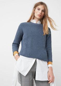 Pullover cotone lana | MANGO