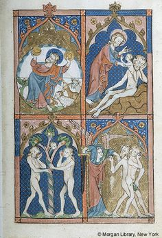 Psalter, MS M.302 fol. 1r - Images from Medieval and Renaissance Manuscripts - The Morgan Library & Museum
