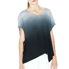 Ahsburry Ombre Tee Navy | #ombre #monochrome #top