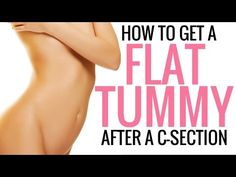 How to Tighten, Tone and Flatten your Stomach After a C-Section - Christina Carlyle - YouTube