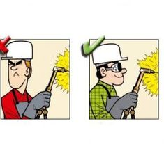 Yanlış ve Doğruları ile İnşaatta İş Güvenliği Safety Cartoon, Safety First, Lean Manufacturing, Atvs, Signs, Poster, Warriors, English, Places