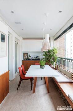 6 ideias para aproveitar o espaço da varanda