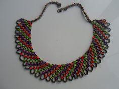 Песок цветные шарики Воротник ожерелье | Я emeksensin.co | v428818
