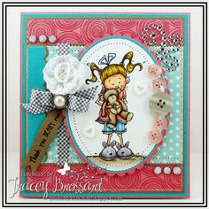 Handmade Greeting Card  Thank You Beary Much by BrossARTaddiction, $12.00