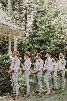 Sage wedding colors { Sage green wedding theme } - Looking for a wedding colour that refreshing? Sage wedding color is the one, Sage wedding colors are easily spiced up with any color Themes Sage wedding colors { Sage green wedding theme } Bridesmaids And Groomsmen, Wedding Bridesmaids, Vintage Groomsmen Attire, Rustic Wedding Groomsmen, Groomsmen Outfits, Casual Groom Attire, Groomsmen Wedding Attire, Grooms Men Attire, Groomsmen Attire Suspenders