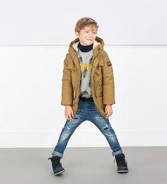 d7652784 Chicos, Zara Estados Unidos, Navidad Para Niños, Moda Masculina, Moda  Infantil, Parca, Zara Kids, Niños, Oveja