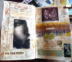 art journal by LaWendula, via Flickr