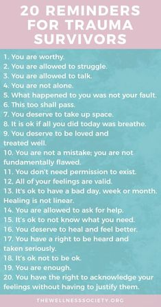 Healing Trauma: The Ultimate Online Guide Plus Free 42 Page eBook + Affirmations Cards Understanding and healing trauma: a comprehensive online guide from The Wellness Society Mental Health Therapy, Mental And Emotional Health, Emotional Abuse, Mental Health Awareness, Ptsd Awareness, Mental Health Day Off, Mental Health Treatment, Mental Health Disorders, Trauma Quotes