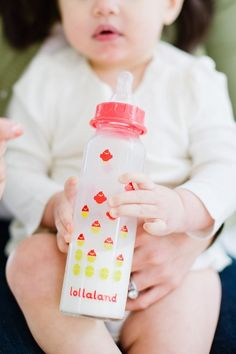 Best glass baby bottles: Lollaland makes sturdy, very cute bottles in two different sizes