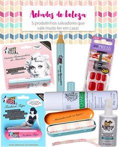 Achados de beleza: 5 produtos salvadores! Tem caneta que tira manchas, unha autocolantes, produto que substitui linha e agulha e muito mais!