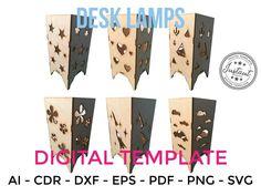 Archivo de corte láser descarga de archivos dxf de corte | Etsy Cnc Router Plans, Woodworking Plans, Cnc Plasma, Laser Cut Files, Laser Cutting, Desk Lamp, Cutting Files, Etsy, Lamps