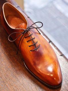 Fancy - Nobuaki Fujisawa Patina Wholecut Shoes