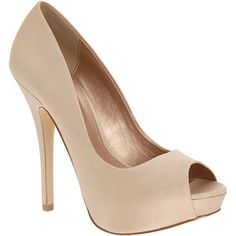 nude satin open toe pumps...I need these now. Where can I buy them?