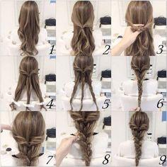 Quick And Easy Braid Hair Tutorial hair long hair braids hair ideas diy hair hairstyles hair tutorials easy hairstyles Easy Hairstyles For Long Hair, Braids For Long Hair, Different Hairstyles, Diy Hairstyles, Braid Hair, Natural Hairstyles, Simple Braided Hairstyles, Summer Hairstyles, Braids Easy