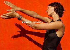 Marte Mei van Haaster by Viviane Sassen for Hermès x Watch