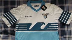 Authentic S.S.Lazio 115th Anniversary Football Shirt - Macron Size Large - New | eBay