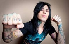 Ronnie Radke the Lead Singer of Falling in Reverse- It may just be because of the tattoos but I am a bit attracted to this man! Emo Bands, Music Bands, Rock Bands, Ronnie Radke, Band Quotes, Band Memes, Escape The Fate, Falling In Reverse, Perfect Together