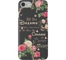 """""""All Our Dreams Can Come True Mickey Quote Of the Day """" iPhone Cases & Skins by baray7   Redbubble"""