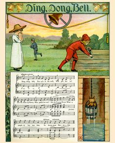 Story Book Sundays - Mother Goose's Melodies - Illustrated by F. Schuyler Mathews