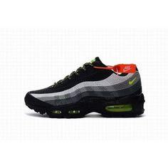 32da391031 Wholesale Nike Air Max 95 Black Green #NikeAirMax Air Max Sneakers,  Sneakers Nike,