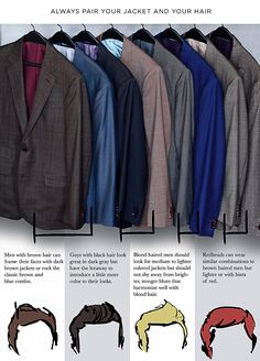 How to Properly Match Hair/Eye Color with Clothing Colors