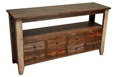 This amazing photo collections about Rustic Sofa Tables is accessible to save. Farmhouse Sofa Table, Rustic Sofa Tables, Entryway Table With Storage, Distressing Painted Wood, Solid Wood Tv Stand, Homemakers Furniture, Antique Sofa, Reclaimed Wood Furniture, Wood 8