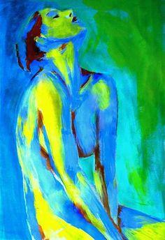 "Saatchi Art Artist Helena Wierzbicki; Painting, """"Serene solace"""" #art"