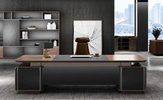 how to make your office more productive comfortable work space Office Workstations, Improve Yourself, Make It Yourself, L Shaped Desk, Mini Fridge, Start Up Business, Desk Chair, Make More Money, Cool Lighting