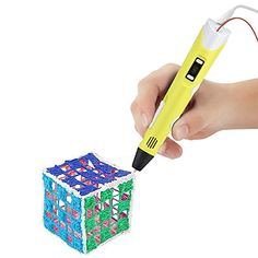 ToBeter 3D Printing Pen with LCD Screen for 3D Drawing and Doodling with 3 Loops of ABS Filament Material, Power Adapter, Manual - Yellow - http://www.real3dprinter.com/3d-printing-materials/tobeter-3d-printing-pen-with-lcd-screen-for-3d-drawing-and-doodling-with-3-loops-of-abs-filament-material-power-adapter-manual-yellow/?utm_source=PN&utm_medium=News&utm_campaign=SNAP%2Bfrom%2BThe+3D+Printing+Website  #Adapter, #Doodling, #Drawing, #Filament, #Loops, #Manual, #Material,