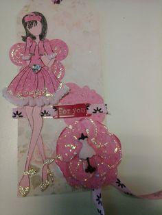My pink tag