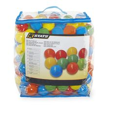 What's the only thing better than a ball pit? Having a personal ball pit all to yourself! Our Stats 250 Piece Plastic Play Balls are ideal for refilling or creating an awesome ball pit. These colorful and cool kids' toys are sure to be a hit at your child's next birthday party when you fill up your ball pit and let the kids dive into the fun. They'll have a ball! The deluxe plastic is soft but incredibly tough.<br><br>The Stats 250 Piece Plastic Play Balls features:<br><ul><li>Includes 250…