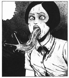 The Junji Ito Horror Comic Collection, Volume 7 Manga Anime, Art Manga, Manga Artist, Junji Ito, Japanese Horror, Japanese Art, Arte Horror, Horror Art, Manga Gore