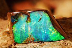 australian opal | LC Insider | Australian Boulder Opal: Color Down Under | LCstyle