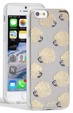 Sonix 'Clear Hedgehog' iPhone 6 Case available at #Nordstrom