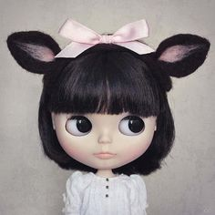Image uploaded by 默. Find images and videos about cute, doll and blythe on We Heart It - the app to get lost in what you love. Cute Images, Custom Dolls, Blythe Dolls, Dolls Dolls, Ball Jointed Dolls, Doll Face, Big Eyes, Vintage Dolls, Beautiful Dolls