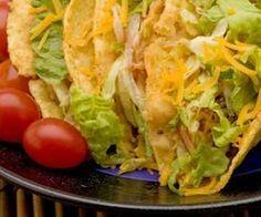 cheap meals for 50, taco bar, pasta bar