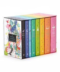 Take a look at this Puffin Classics Boxed Hardcover Set by Penguin Group (USA) on #zulily today! I totally want this set of Classic books for kids. Recommended for ages 8 and up. Only 5 more years until Danny qualifies!!!!! It's so beautiful!