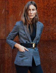Classic Belted Tweed | Jacket.