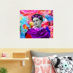#Freeda Photographic #Print Absolutely Stunning, Texture, Art Prints, Paper, Painting, Frida Kahlo, Surface Finish, Art Impressions, Painting Art