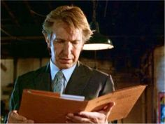 I'm Lost in Books: New Feature: Celebrities Reading: Alan Rickman