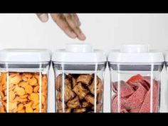 """OXO Launches New Containers with a """"POP"""" - YouTube"""