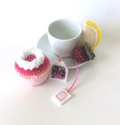 A personal favorite from my Etsy shop https://www.etsy.com/listing/263466130/felt-food-valentines-day-felt-cupcake